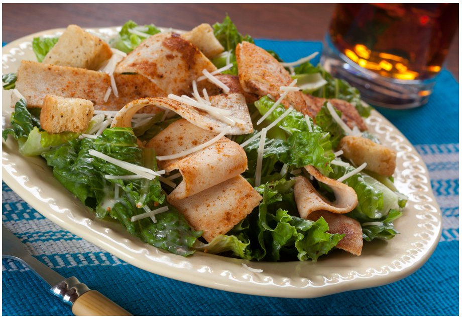 Cajun Chicken Caesar Salad